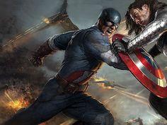 Nuevo diseño de arte conceptual de 'Capitán América: El soldado de invierno'