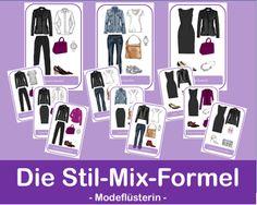 Ein harmonisches Outfit im Stil-Mix zu stylen, ist gar nicht so einfach. Mit dieser Stil-Mix-Formel geht das in 4 Schritten ganz easy - und erfolgreich! Jetzt gleich auf www.modefluesterin.de nachlesen und ausprobieren! #Outfit #40plus #Stilmix #Style40plus