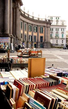 Piazza Dante Naples, Italy re-pinned by: http://sunnydaypublishing.com/books/