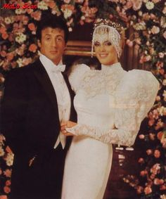 Sylvester Stallone and Brigitte Nielsen's 1985 Wedding, T.