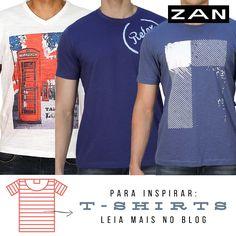 Está na dúvida no look de hoje? Se jogue nas t-shirts! #Zan