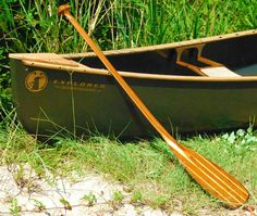 The new toy, Mad River canoe. So excited!