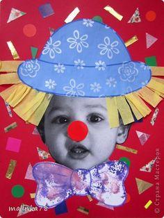 Вот таких клоунов и клоунес мы сделали из наших милых малюток. На этой неделе планируется выезд детей в цирк и на эту тему были сделаны наши работы. Делать их просто, а выглядит работа интересно! фото 1