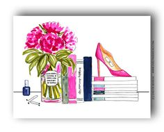 Books, Flowers, and Shoes | Evelyn Henson