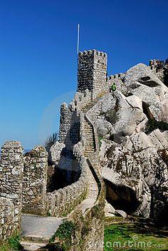 Castelo dos Mouros. Sintra Mountains, Lisbon, Portugal. Que tremendas ganas de volver!
