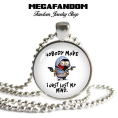 Minions Necklace Photo Glass Pendant Minions Fandom Jewelry