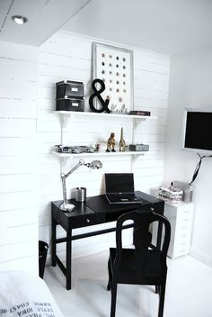 black desk----- paint