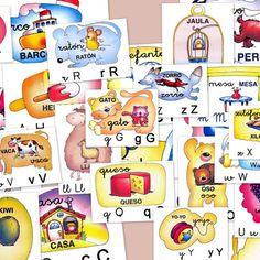 Fichas para aprender el alfabeto