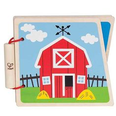 First Baby Book - Farm Theme with Animals
