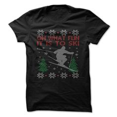 SKIING CHRISTMAS Check more at http://sunfrogcoupon.com/2016/12/20/skiing-christmas/