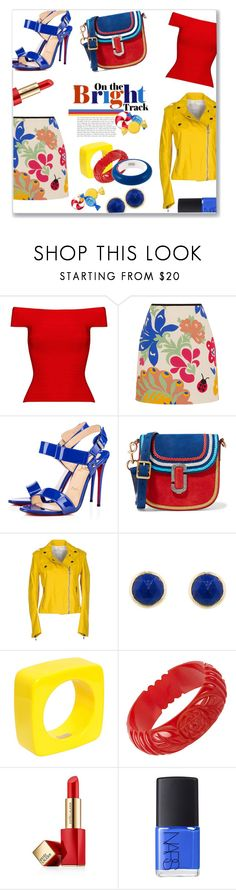 """""""YUMMY!!!"""" by jckallan ❤ liked on Polyvore featuring Posh Girl, Victoria, Victoria Beckham, Christian Louboutin, Marc Jacobs, Pierre Balmain, Dsquared2, Estée Lauder, NARS Cosmetics, candy and contestentry"""