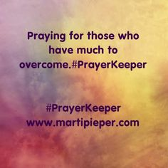But God. #PrayerKeeper