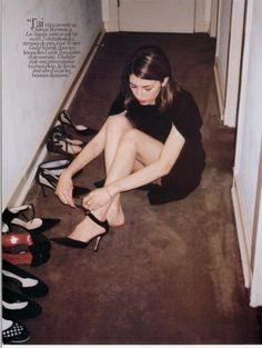 sofia coppola + shoes