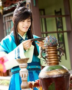 Kim Taehyung (BTS V) still cut as Hansung on Hwarang [161130]