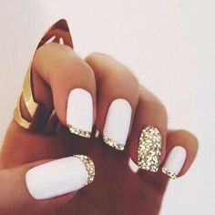 Sparkle on pink. #nails