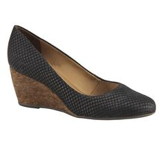 Sapato com salto anabela   Sapatos   Bottero Calçados