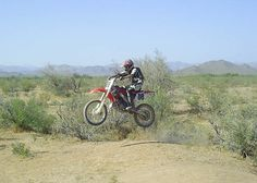 the funnest of all. Camping & riding dirt bikes in the desert. Despite my cousin Rusty's many efforts..we all lived to tell....lol.