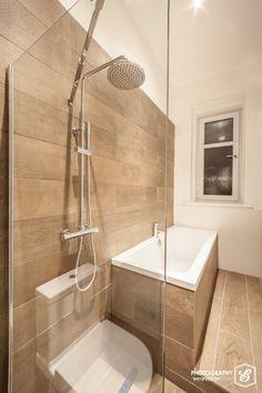Bathroom Makeovers Glasgow our new glasgow tenement bathroom: grey subway tiles, yellow walls