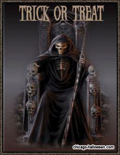 Animated Grim Reaper | Halloween Graphics