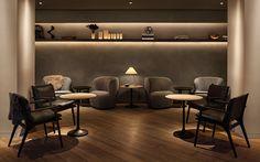 11 Howard Hotel in Soho by Space Copenhagen Above: