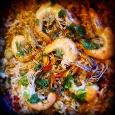 JeanneDôme: Νότια Ιταλία-chez jeanne: Ριζότο με μύδια και γαρίδες Sweets, Chicken, Meat, Recipes, Food, Gummi Candy, Candy, Recipies, Essen