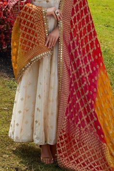 Buy Beige Rubber Printed Cotton Silk Designer Salwar Kameez Online WhatsApp us for Purchase & Inquiry : Pakistani Dresses Casual, Indian Gowns Dresses, Indian Fashion Dresses, Dress Indian Style, Pakistani Dress Design, Indian Outfits, Fashion Outfits, Pakistani Wedding Dresses, Nyc Fashion