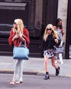 Ashley Olsen and Mary Kate Olsen