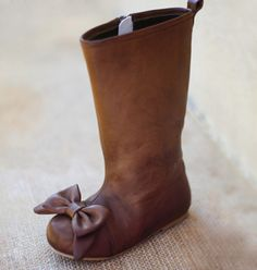 Boots for little girls! Adorable