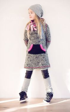 ki-ba-doo sewing pattern with freebie`s for cool girl's