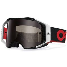 10b4508205af5 Oakley Airbrake MX Goggles - B1-B Red Black. Motocross Goggles ...