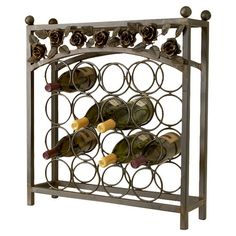 I pinned this Vigne Wine Rack from the Garden Rustics event at Joss and Main!