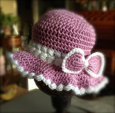 Cherise hat so romantic and feminine.  #crochet #patternparadisecrochet #crochetpattern #valentinesday #valentine #heart #hat #beanie