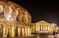 """Not only was Verona the setting of Shakespeare's """"Romeo and Juliet,"""" it has its very own Roman amphitheater that makes a great stand-in for a visit to the Colosseum."""