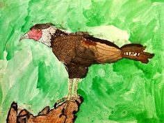new city arts: second grade has gone to the birds!
