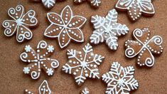 Gingerbread Decorations, Gingerbread Man, Gingerbread Cookies, Christmas Baking, Christmas Cookies, Christmas Gifts, Holiday, Czech Recipes, No Bake Desserts
