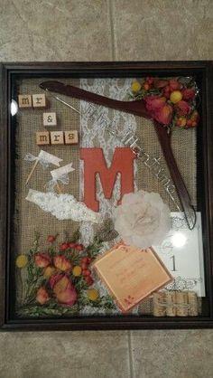 Made my wedding shadow box! Wedding Memory Box, Wedding Wall, Wedding Boxes, Post Wedding, Wedding Shadow Boxes, Wedding Ideas, Wedding Signs, Wedding Stuff, Dream Wedding