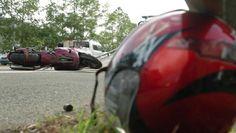 Cuatro muertes y diversos heridos entre la tarde del domingo y la madrugada de hoy en choques que involucran motoras.