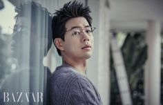 Lee Sang Yoon in Harper's Bazaar Korea January 2017