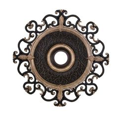 We have this and love them! Minka Aire Ceiling Medallion for Napoli Ceiling Fan