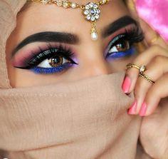 makeup artist eye makeup tutorial makeup style much to c. - Eye make-up - Arabic Eyes, Arabian Beauty Women, Arabian Makeup, Eye Makeup Brushes, Makeup Remover, Muslim Beauty, Indian Bridal Makeup, Braut Make-up, Gorgeous Eyes