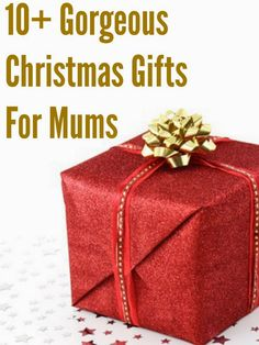 10+ Gorgeous gift ideas for mums for Christmas 2014... from the very simple and inexpensive to splashing out gifts, each one is sure to make a mum smile this festive season :)
