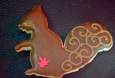 Squirrel cookie!