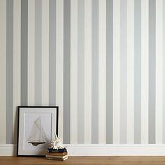 Buy John Lewis Padstow Stripe Wallpaper Online at johnlewis.com