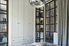 Дизайн маленькой квартиры: интерьер в модном сером цвете