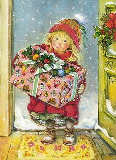 Adorable - Christmas postcard (Germany)