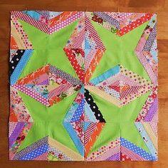 String Star Quilt Blocks