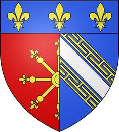 Chaumont, Prefecture of Haute-Marne (France), Region: Grand Est Haute Marne, City Logo, Playing Cards, France, Cities, Logos, Stamps, Europe, Coat Of Arms