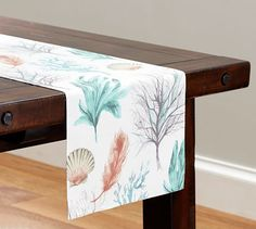 Del Mar Coastal Table Runner | Pottery Barn