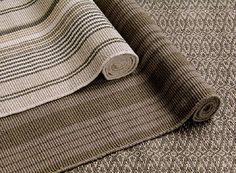 $222 6' x 9' Woven Cotton Rugs are reversible if you mess up 1 side, tightly woven of 100% cotton, handsome warp faced rugs are hand loomed of high quality cotton yarn in multiple shades of greige. Tightly woven for durability. Hand washable in cold water. 3 patterns here, many more colors + patterns at website