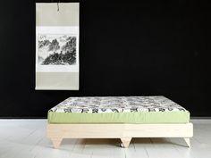 3 - Sofa-cama Fresh en posicion cama vista lateral